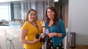Me & Donna A. Ramirez (from TELUS)