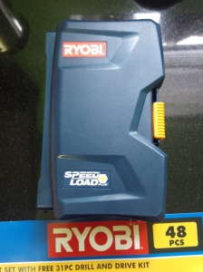 Ryobi blue and yellow are trademarks