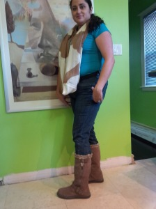 Me in my boots