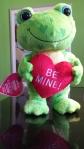 Hearts a Hoppin Frog