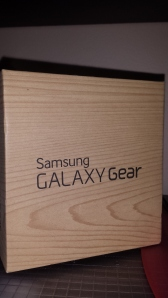 Galaxy Gear box