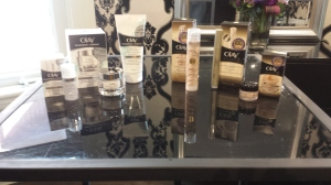 Olay on table #AgeDefy #BestBeautiful