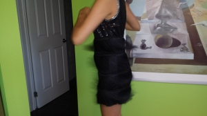 Flapper dancing