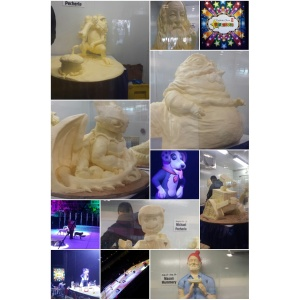 Butter Sculptures and Superdogs