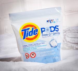 Tide Pods Free & gentle (3)