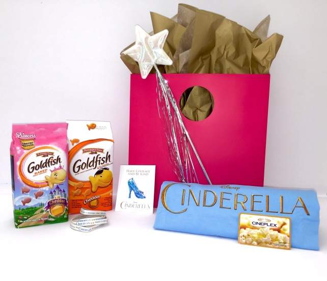 Blogger prize pack with Cineplex GC